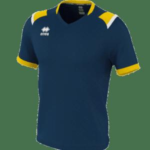 Lucas Shirt blau:gelb-weiß